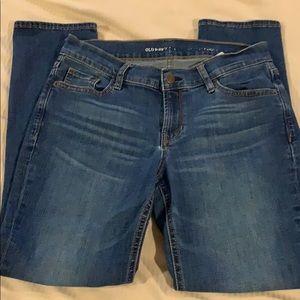 Old navy straight leg 4 jeans